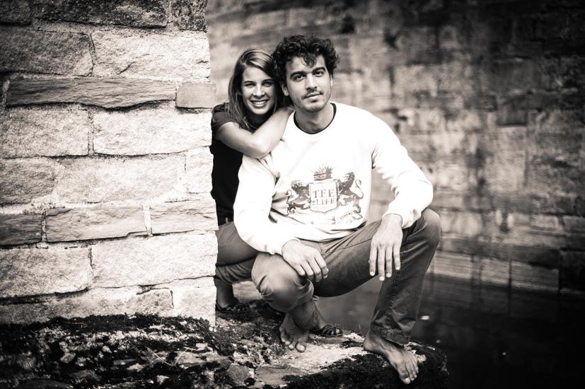 Pierre-Baptiste et Sophie pour TEE OF LIFE