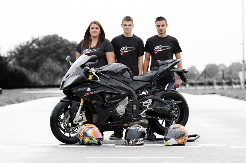 Team Fantastik Racing 38 -  Pour les 24h du Mans en 2014 - BMW S1000RR