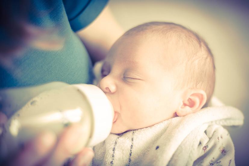 Instant avec bébé