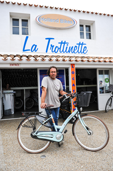 Reportage photo à L'Île-d'Yeu sur le roi de Belgique pour le journal Het Nieuwsblad