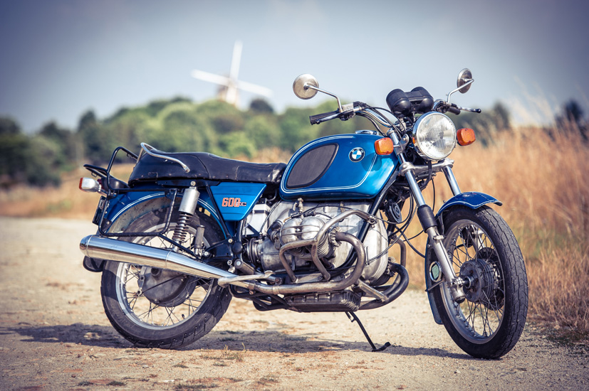 Moto BMW R60/6 1976